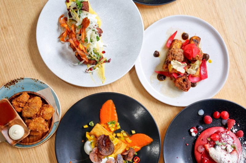 featured dishes at sir charles cafe