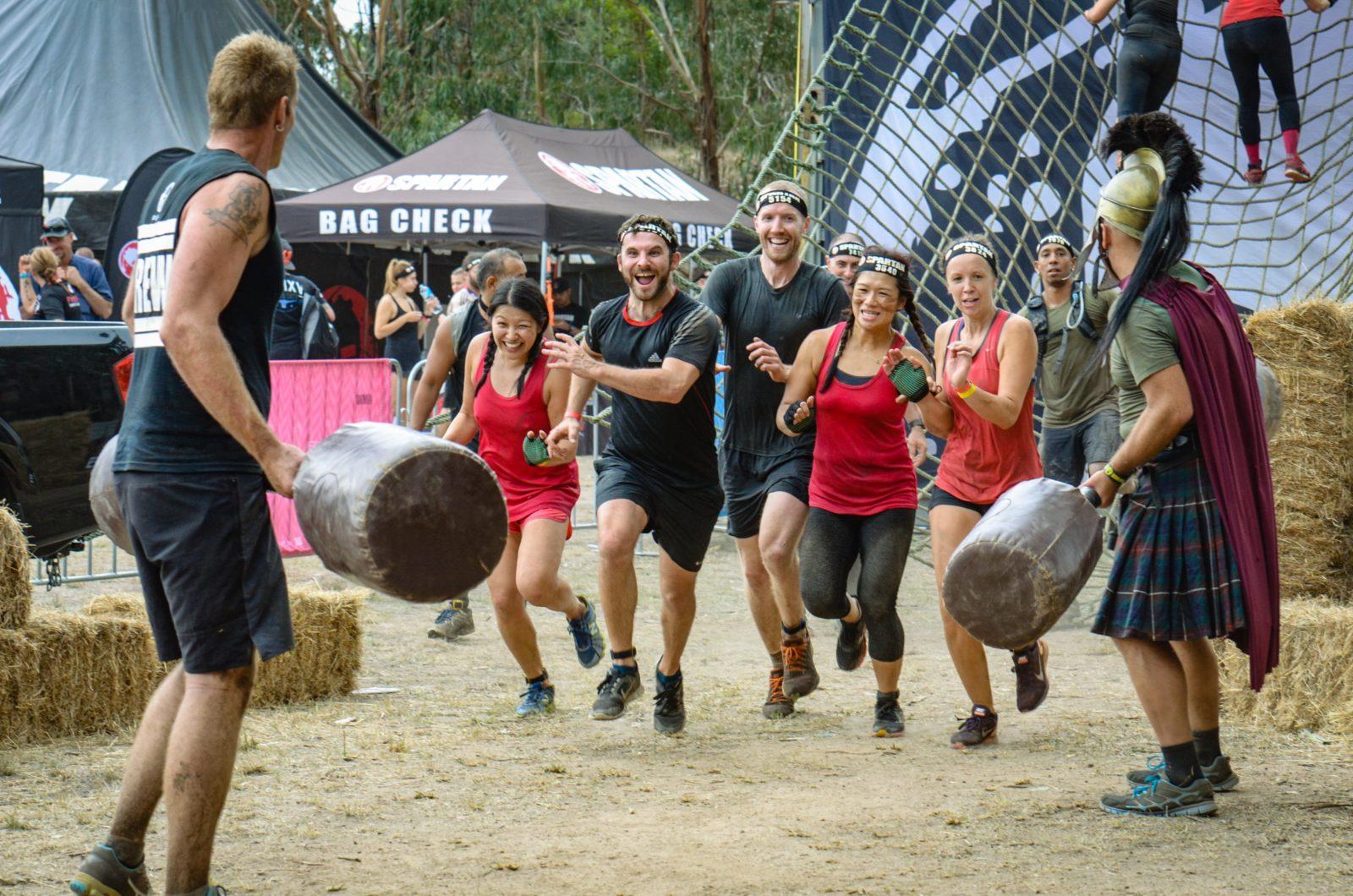 Spartan Australia Racers in action