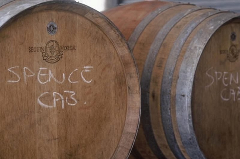 Spence Wines Barrells