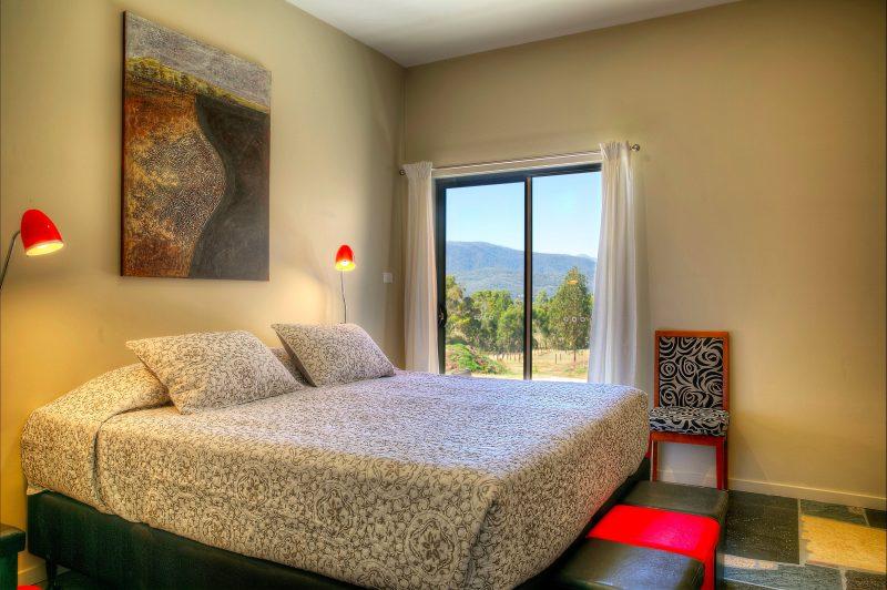 Queen Room overlooking Mount Feathertop