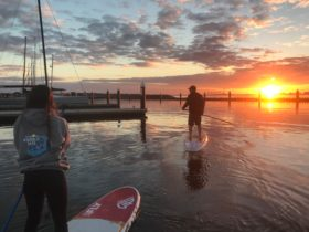 Sunset Paddle in St Kilda Harbour