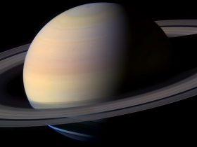 Saturn Night Sky