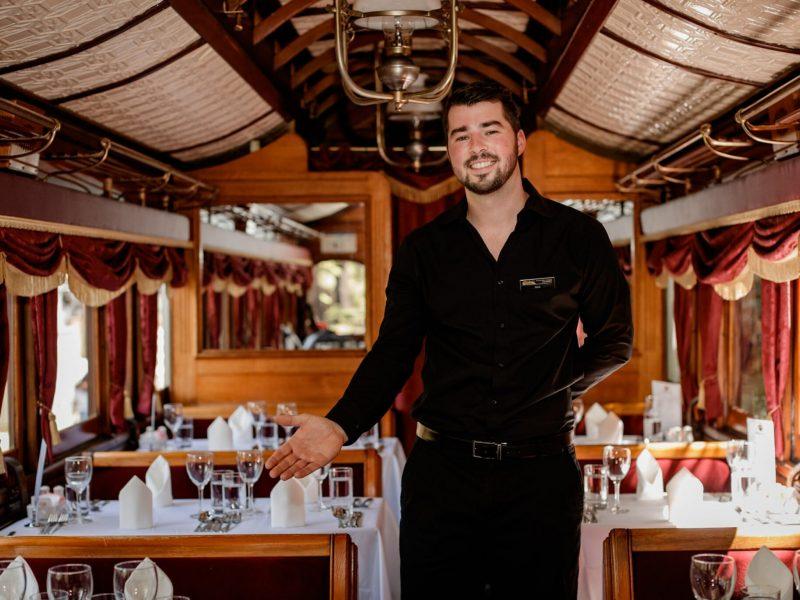 Luncheon waiter