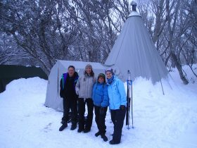 Stirling Experience Alpine Camp - Join for a great camping experience