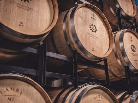 Stumpy Gully Vineyard Barrels