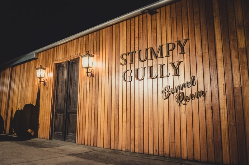 Stumpy Gully Vineyard Barrel Room