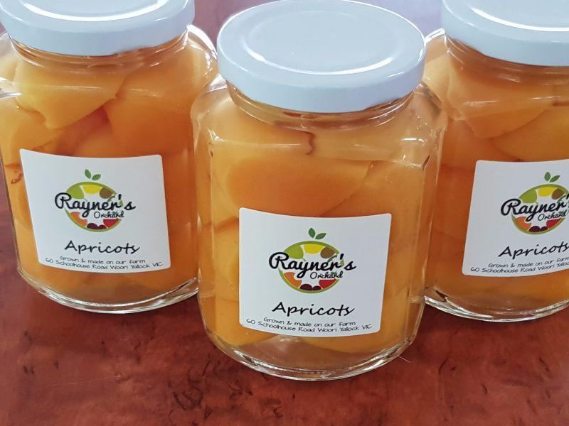 Bottled Apricots