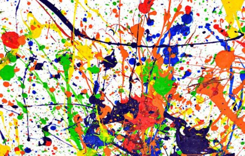 Paint like Pollock in the Park