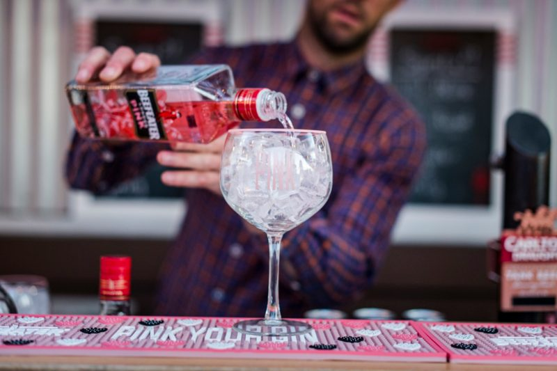 Pink Beefeater Gin