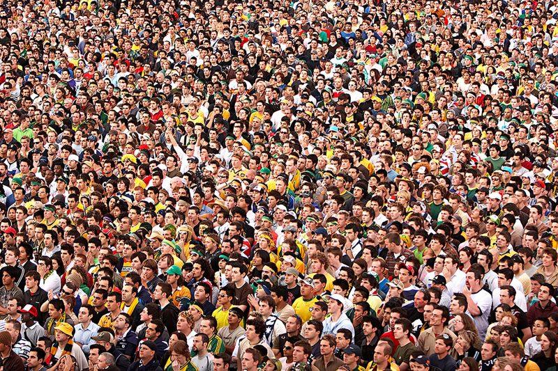 Fed Square Crowd
