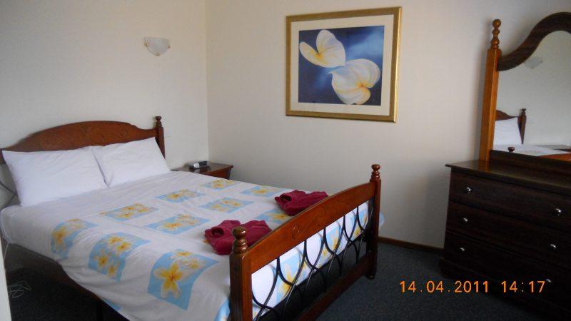 Main Bedroom at Summers Rest Units