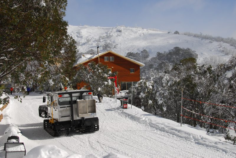 Lodge with Skifield and oversnow