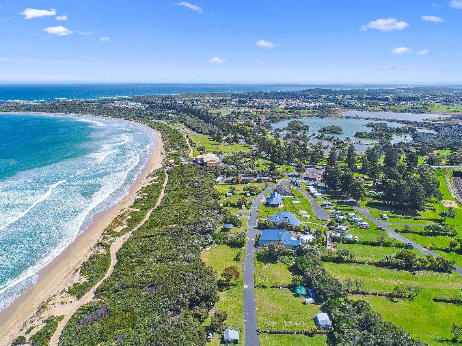 Surfside Holiday Parks Warrnambool Great Ocean Road Camping Family Holiday