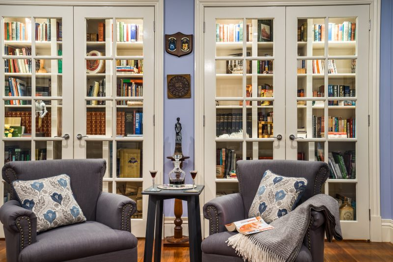 Classic Reading Room with a great selection of titles
