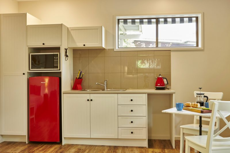 Brand new kitchenette plus your BBQ in your private fenced garden