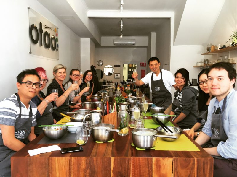 Thai cooking class in Melbourne