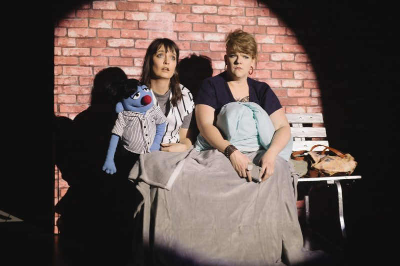 Jennifer Piper as Anne Xiety and Belinda Campbell as Joy Fuller