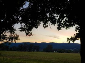 King Valley Sunset