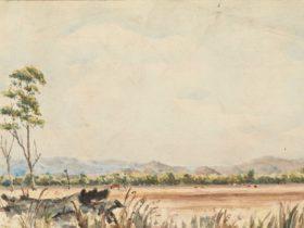 Site of the Yan Yean Reservoir, 1851