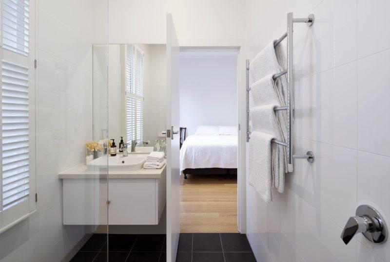 The Pear Room Bathroom