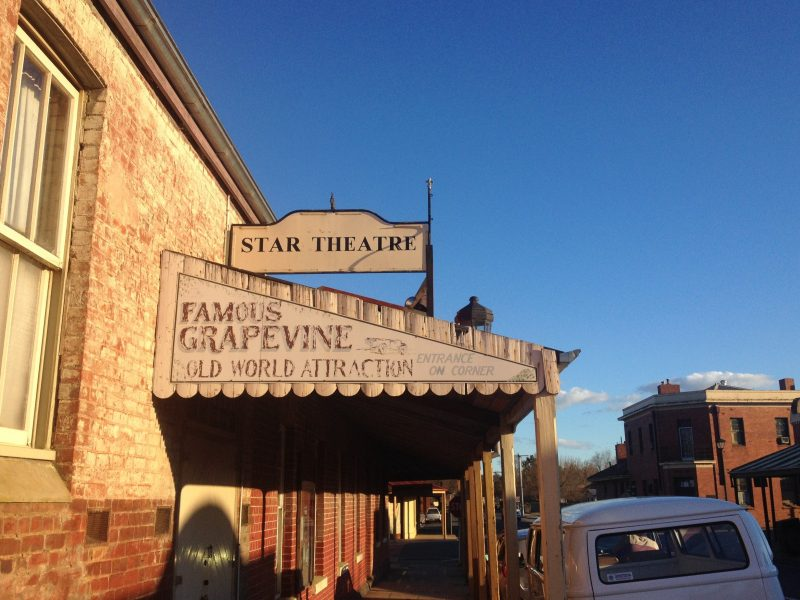 The Historic Star Theatre at Chiltern Victoria