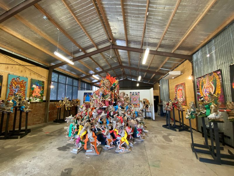 The Foundry Arts Space - John Bradley exhibition 2020