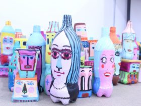 Christina Darras. Bottle People. Crafts Victoria - August Festival 2019.