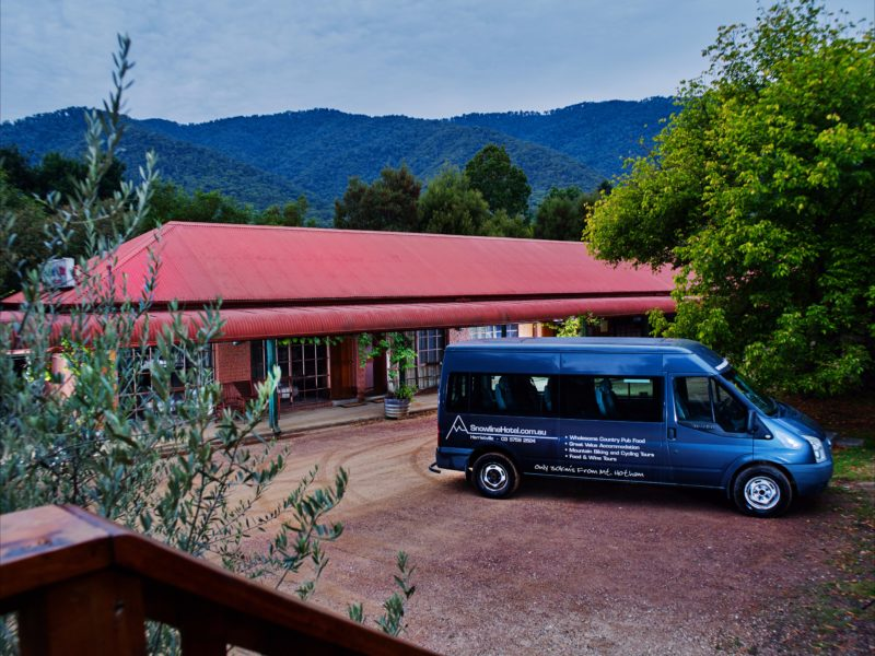 Snowline 16 Room Motel & Bus
