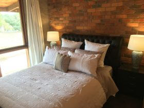 Large comfortable queen bed