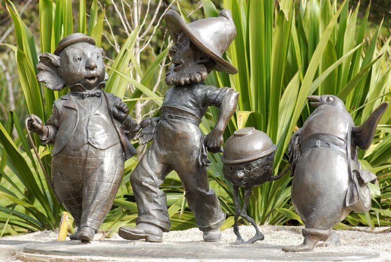 Magic Pudding sculpture