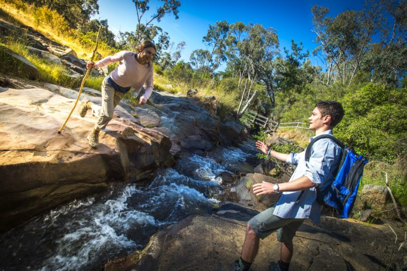Water race, Yackandadndah, created by gold miners