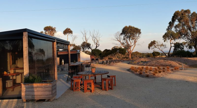 The Inverloch Glamping Co Camp Kitchen