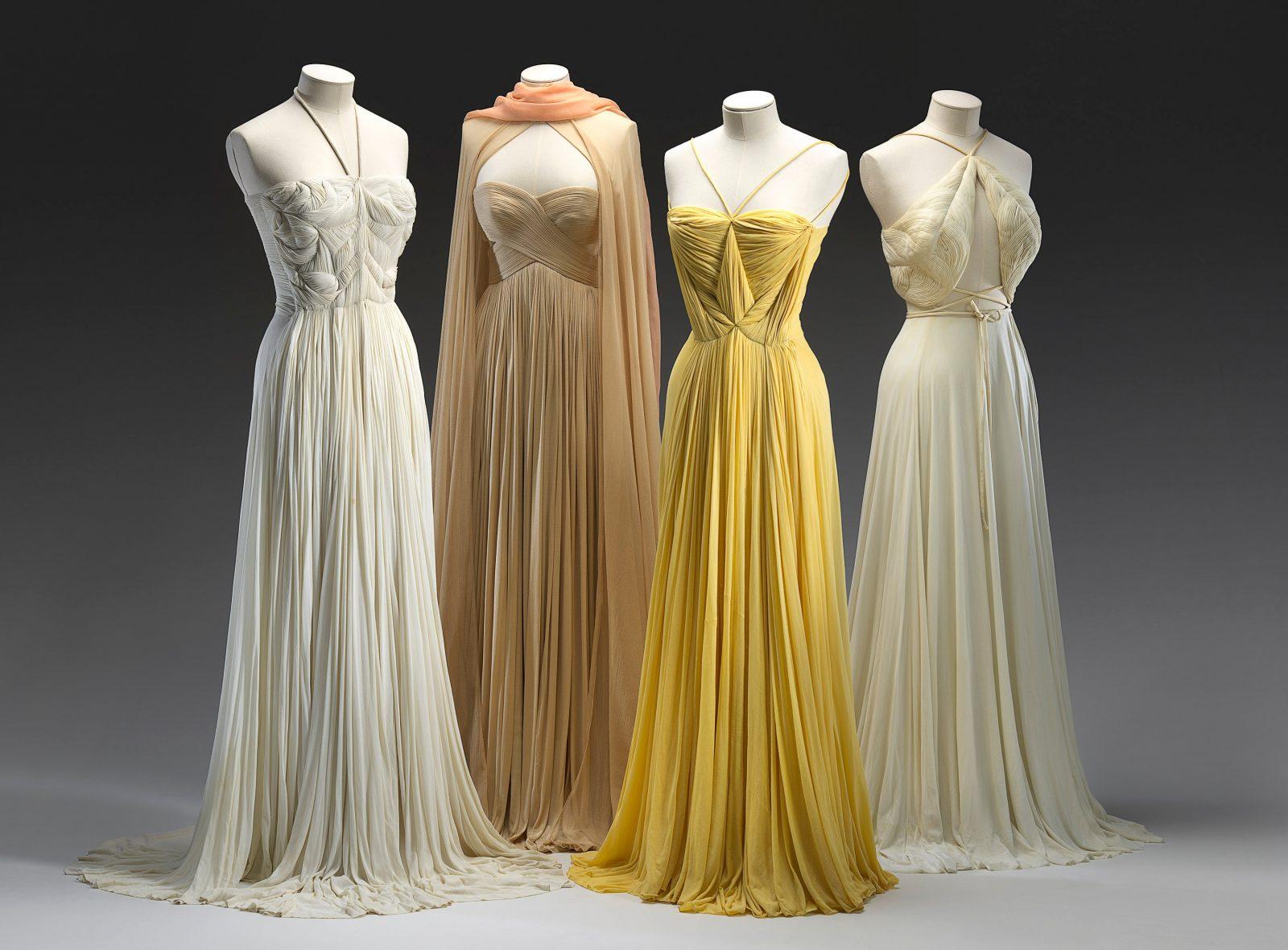 Evening dresses, 1939 spring-summer c.1980