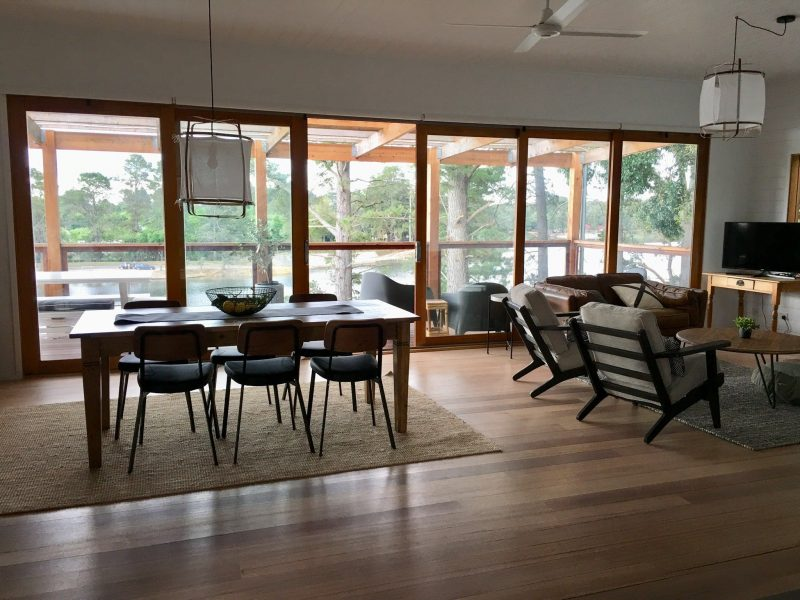 Main living and dining