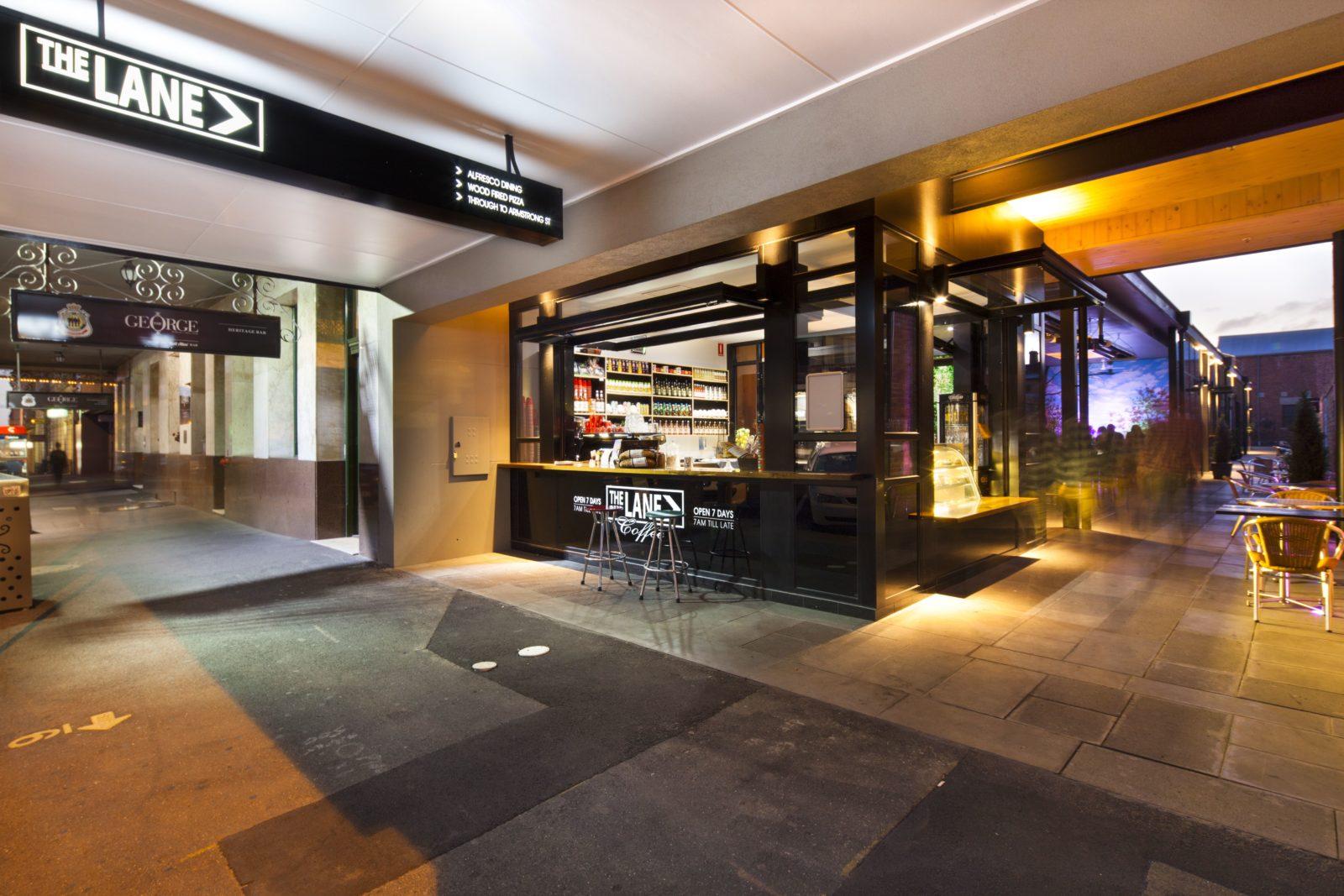 The Lane at The George Hotel Ballarat