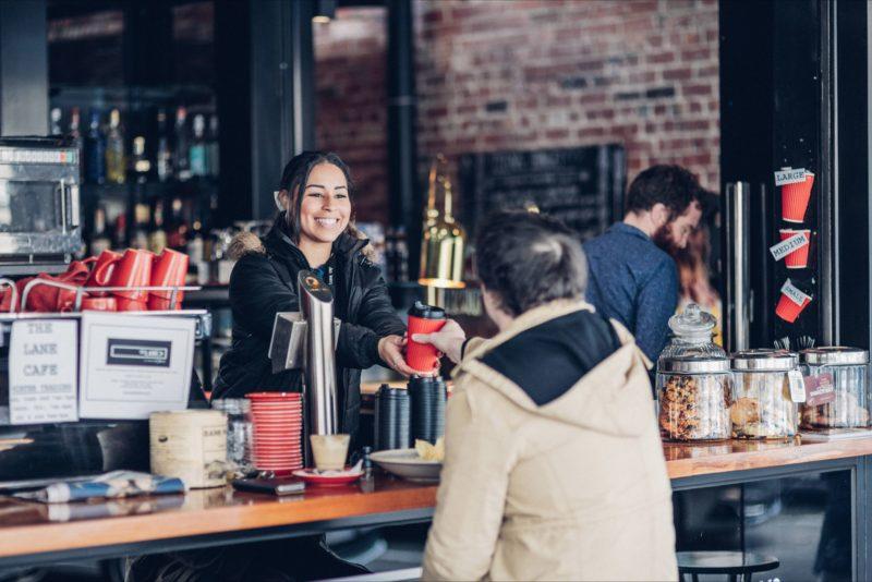 The Lane - Walk up street cafe