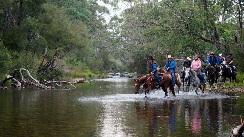 Rileys Riders river crossing