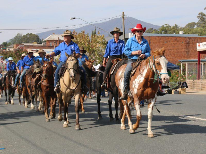 Riders in the MFSR Street Parade