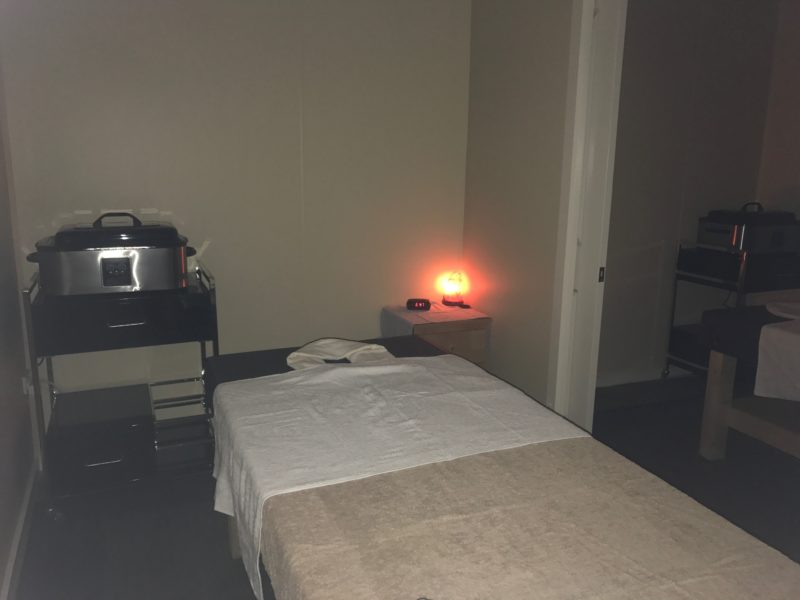 Six massage rooms