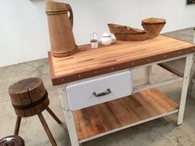 Platform No 5 at The Mill Castlemaine upcycled bespoke industrial and secondhand