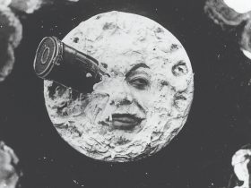 Georges Méliès A trip to the moon (Le voyage dans la lune) (still, detail) 1902