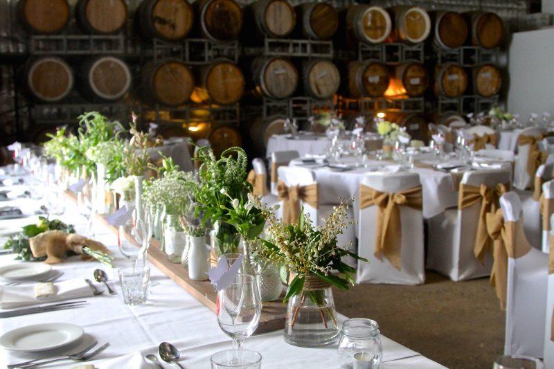 Barrel Room Wedding