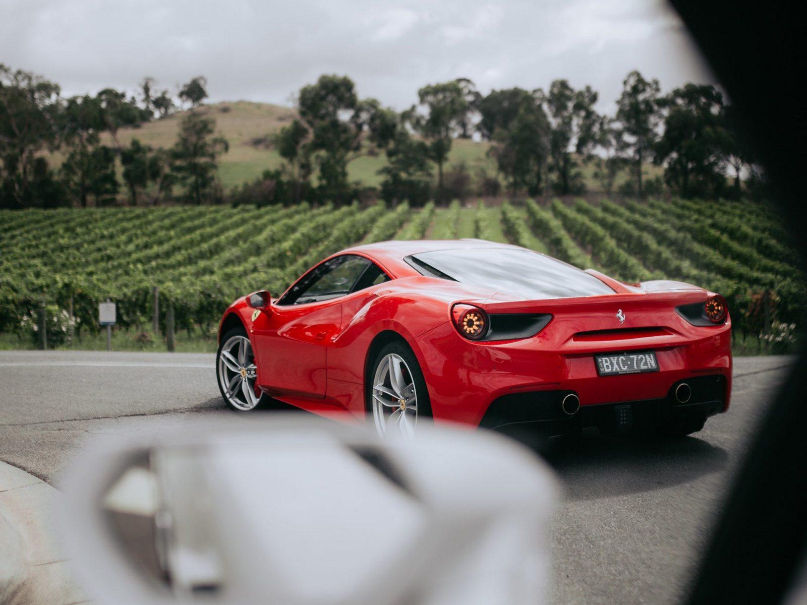 Drive a brand new Ferrari 488 GTB in the beautiful Yarra Valley - Melbourne Victoria
