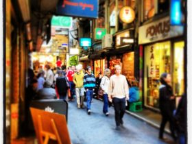 Melbourne City Tour. Melbourne's laneways and arcades give the city it's very own identity.