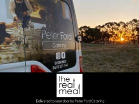 """Peter Ford Catering's """"The Real Meal"""""""