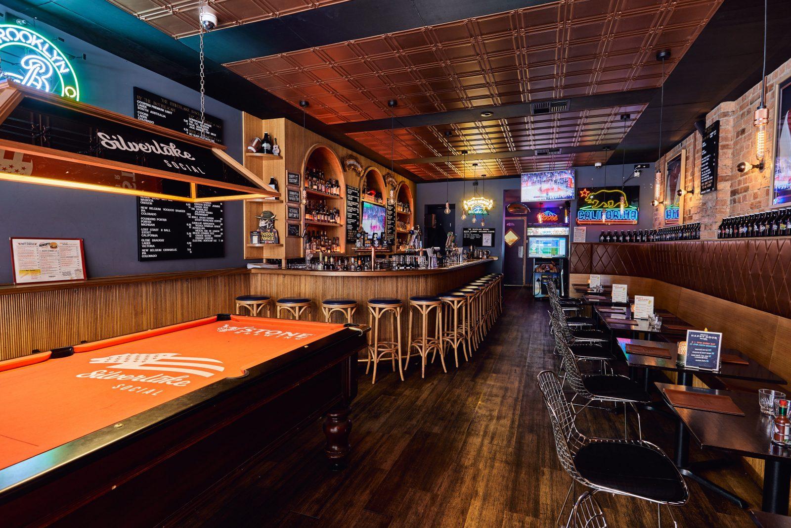 Silverlake Bar Area