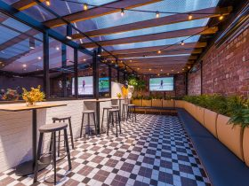 rooftop sports bar