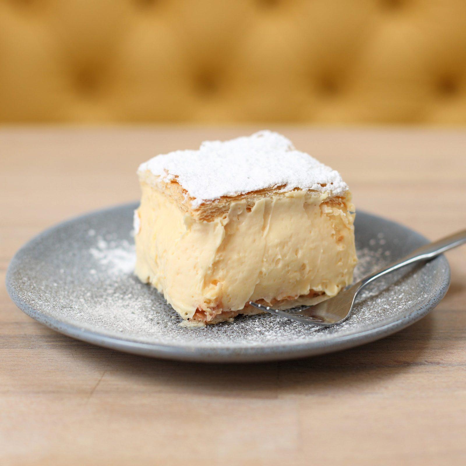 Their famous Vanilla Slice