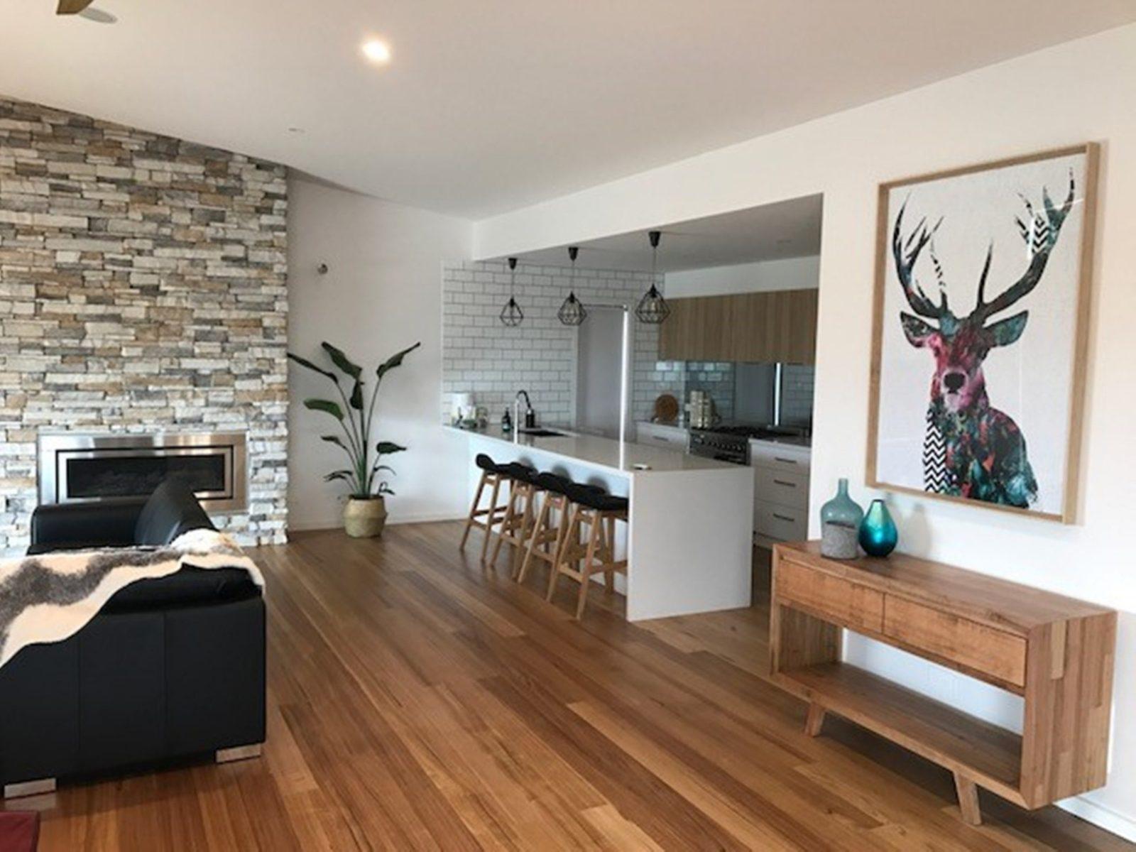 The Villa on Harding Living Kitchen area
