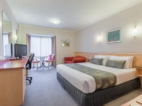 Enjoy your stay in our fully air conditioned, spacious Queen rooms including a comfortable queen